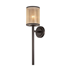 Diffusion Oil Rubbed Bronze 6-Inch One-Light Wall Sconce