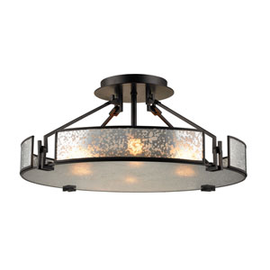 Lindhurst Oil Rubbed Bronze Four-Light Pendant