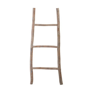 Light Wood 39-Inch Ladder