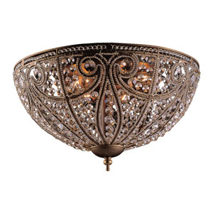 Elizabethan Flush Ceiling Light