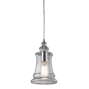 Menlow Park Polished Chrome One-Light Mini Pendant