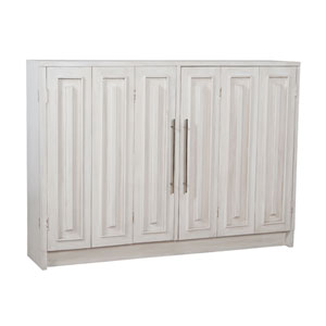 Handpainted Parsons White Wash Sideboard