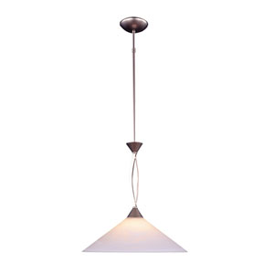 Elysburg Satin Nickel LED One Light Pendant