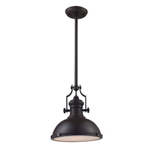 Chadwick Oiled Bronze 14-Inch One Light Pendant