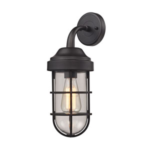 Seaport Oil Rubbed Bronze One-Light Wall Sconce