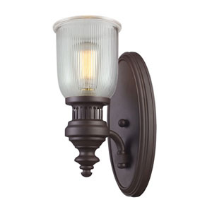 Chadwick Oiled Bronze 7-Inch One Light Wall Sconce
