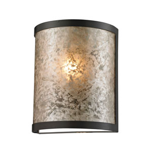 Mica Oil Rubbed Bronze One-Light Rounded Wall Sconce