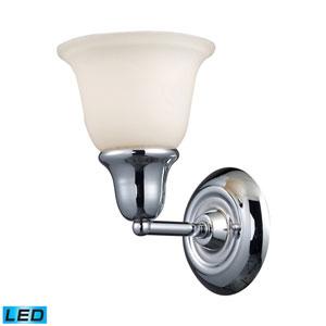 Berwick Polished Chrome LED One Light Bath Fixture