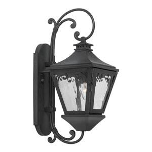Manor Charcoal One-Light Outdoor Wall Sconce