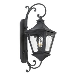 Manor Charcoal Two Light Outdoor Sconce