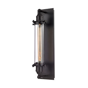Fulton Oil Rubbed Bronze 5-Inch One-Light Wall Sconce
