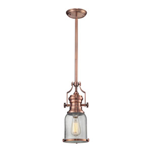 Chadwick Copper 8-Inch One-Light Pendant
