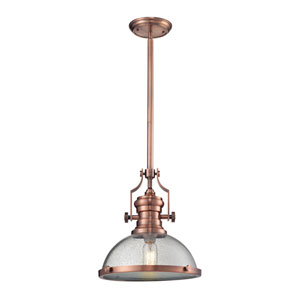 Chadwick Copper 13-Inch One-Light Pendant
