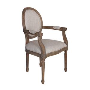 Allcott Natural Arm Chair