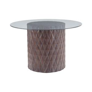 Coco Restoration Grey Entry Table
