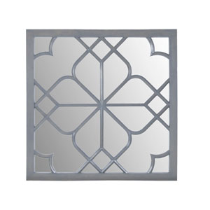 Bain Antique Smoke 52-Inch Square Mirror