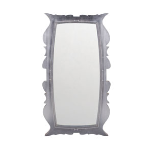 Annie Silver Leaf Mahogany 58 x 32-Inch Rectangle Mirror