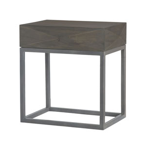 Elizabeth Waterfront Grey Stain Side Table