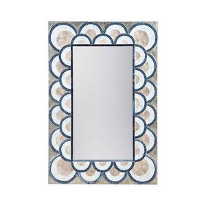 Natural Capiz Shell 47 x 31-Inch Rectangle Mirror