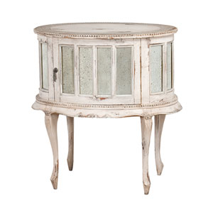Handpainted Provence White Drink Cabinet