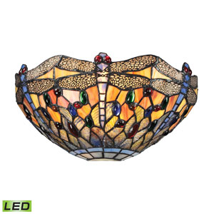 Dragonfly Dark Bronze LED One Light Wall Sconce