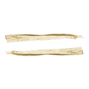 Bleached Papaya Mat Bundle - Set of Two