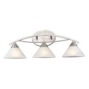 Elysburg Three-Light Bath Fixture