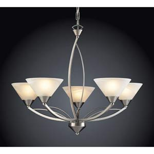 Elysburg Five-Light Chandelier
