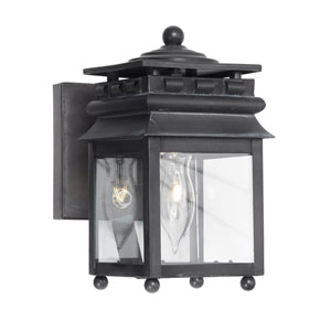 Lancaster Charcoal One Light Outdoor Sconce