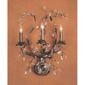 Circeo Three-Light Sconce