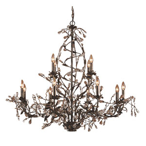 Circeo Twelve-Light Chandelier