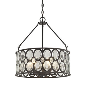 Serai Oil Rubbed Bronze Five-Light Pendant