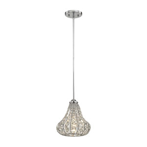 Romina Polished Chrome One-Light Mini Pendant