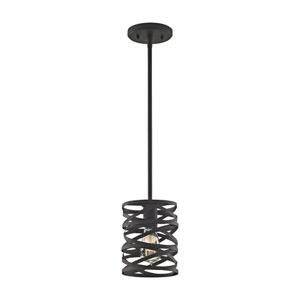 Vorticy Oil Rubbed Bronze One-Light Mini Pendant