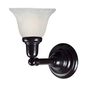 Vintage Bath Oil Rubbed Bronze 1.76-Inch One Light Bath Fixture