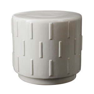Tread White Stool