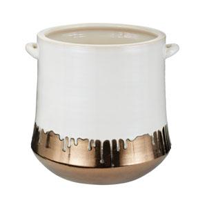 Metaililc Allour Drip Vase