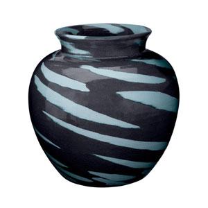 Sea Tiger Blue 13-Inch Vase