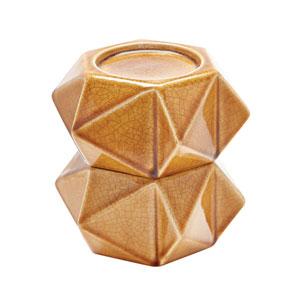 Ceramic Star Honey Candle Holder - Set of Two