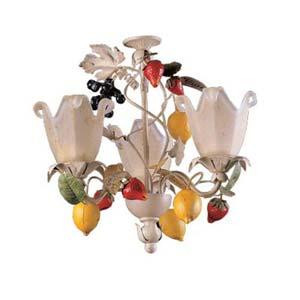 Tootie Fruity Three Light Chandelier
