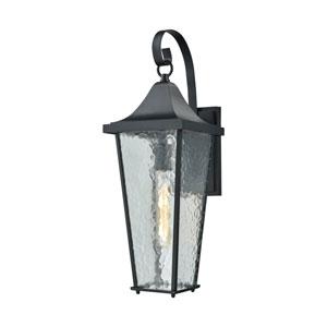 Vinton Matte Black One-Light Outdoor Wall Lantern