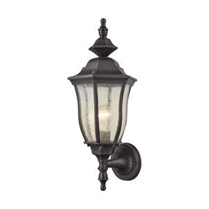 Bennet Graphite Black One-Light Outdoor Wall Lantern