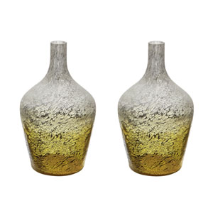 Ombre Lemon Bottles - Set of Two