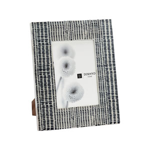 Sabratha Black Eight-Inch Frame