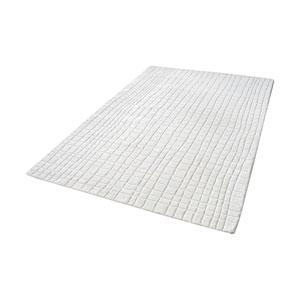 Blockhill Handwoven Cream 3 ft. x 5 ft. Wool Rug