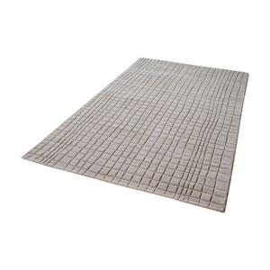 Blockhill Handwoven Chelsea Grey 5 ft. x 8 ft. Wool Rug
