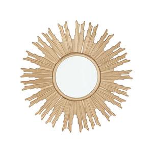 RSVP Gold 32-Inch Round Mirror