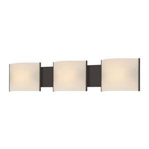 Pannelli Oil Rubbed Bronze Fluorescent Three-Light Vanity