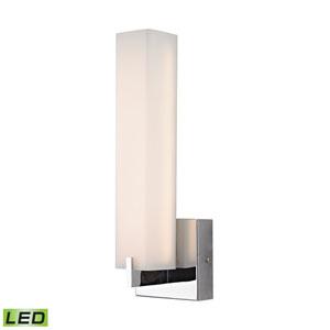 Moderno LED Chrome LED Wall Sconce