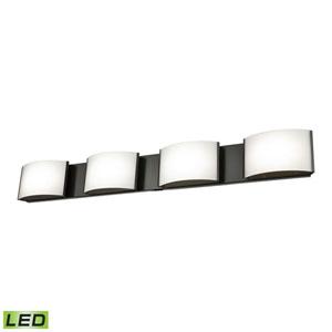 Pandora LED Satin Nickel Four-Light Vanity